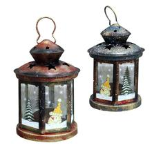 1Pc Vintage Christmas Candle Holder Decoration Glass Shade Candle Lantern Ornaments Garden Wedding Craft Lighting Gift V3(China)