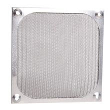 1Pc Fan Aluminum Dustproof Cover Dust Filter for PC Cooling Chassis Fan Grill Guard 120mm