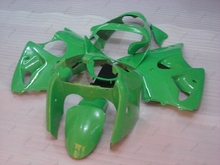 Bodywork Ninja ZX-6r 00 Full Body Kits for Kawasaki ZX6r 2000 2000 - 2002 Green Black Body Kits for Kawasaki ZX6r 2002