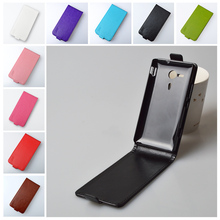 Classic luxury leather case for Sony Xperia SP M35h C5302 C5303 / C 5302 5303 flip cover case housing with phone covers cases(China)