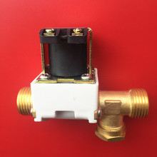 "Free shipping solenoid valve 12Vdc 1/2"" for solar water heater accessories Electronic valve Inlet water valve"