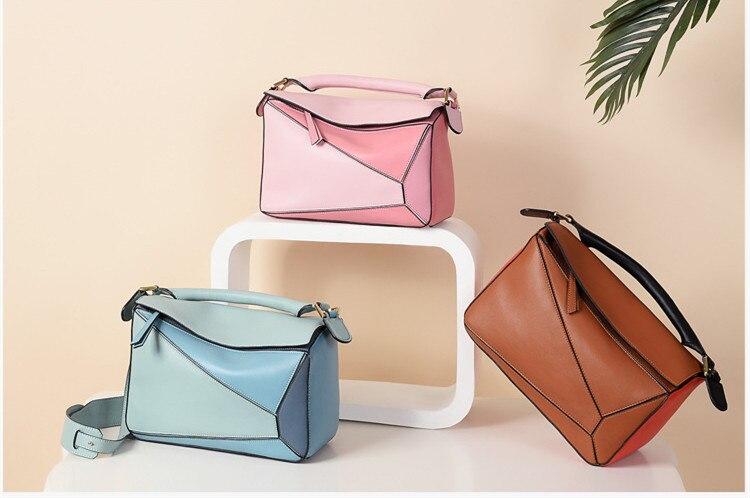 Luxury Handbag Women Bags Designer Inspired High Qyality Genuine Leather Shoulder Bag (6)