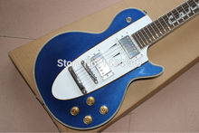Vicers  Best Price - New Style 50th Anniversary 1960 LP Blue Custom electric guitar