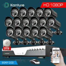 Video surveillance 16Channel Full 1080P dvr system 16*Sony323 2MP 3000tvl outdoor security camera kit 16ch 1080P DVR USB 3G WIFI
