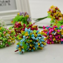 3 bundles 30pcs cheap pompon creative valentines gifts marriage box Crafts Wedding decoration for garden diy Artificial flowers