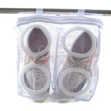 Buy Mesh Hanging Sneaker Laundry Bags Shoes Protect Wash Machine Home Storage Organizer Accessories Supplies Gear Stuff Product for $4.32 in AliExpress store