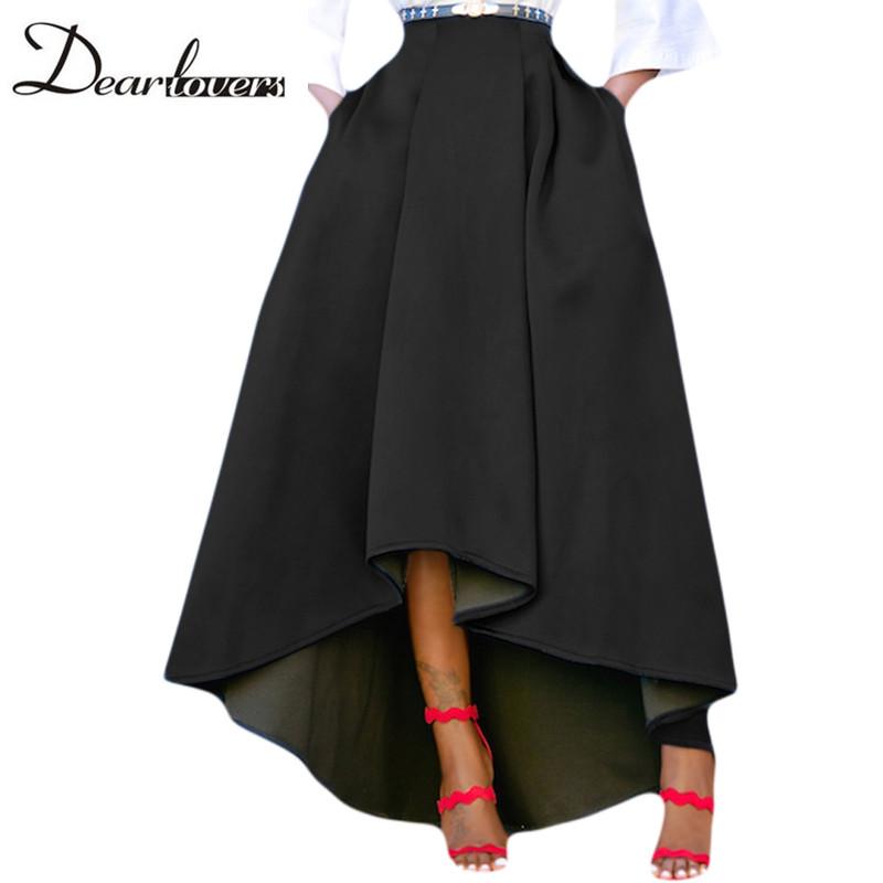 Black-Asymmetric-High-Low-Hem-Maxi-Prom-Skirt-LC65062-2-24370_