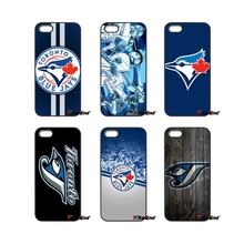 For iPod Touch iPhone 4 4S 5 5S 5C SE 6 6S 7 Plus Samung Galaxy A3 A5 J3 J5 J7 2016 2017 Toronto Blue Jays Baseball Logo Case