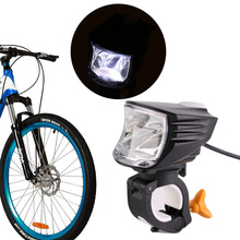 Universal Super Brightness Bike Bicycle Front Head Light Energy Saving Safety Headlight Cycling Accessories Black In Stock(China)