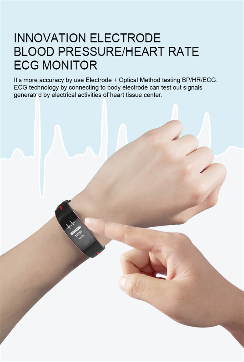 Activity Tracker with Blood Pressure Watch 5