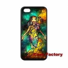 Stained Glass Jasmine Princess For HTC One X S M7 M8 mini M9 Plus Desire 820 Moto X1 X2 G1 G2 Razr D1 D3 Samsung Bags Cases