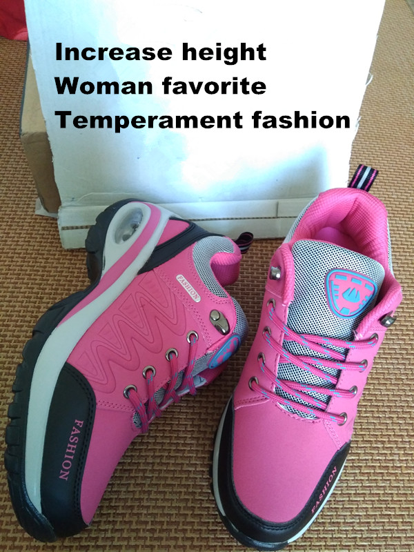 17 High quality Sneakers women shoes Running shoes woman leather Sport Shoes Air damping Outdoor arena Athletic zapatos mujer 5