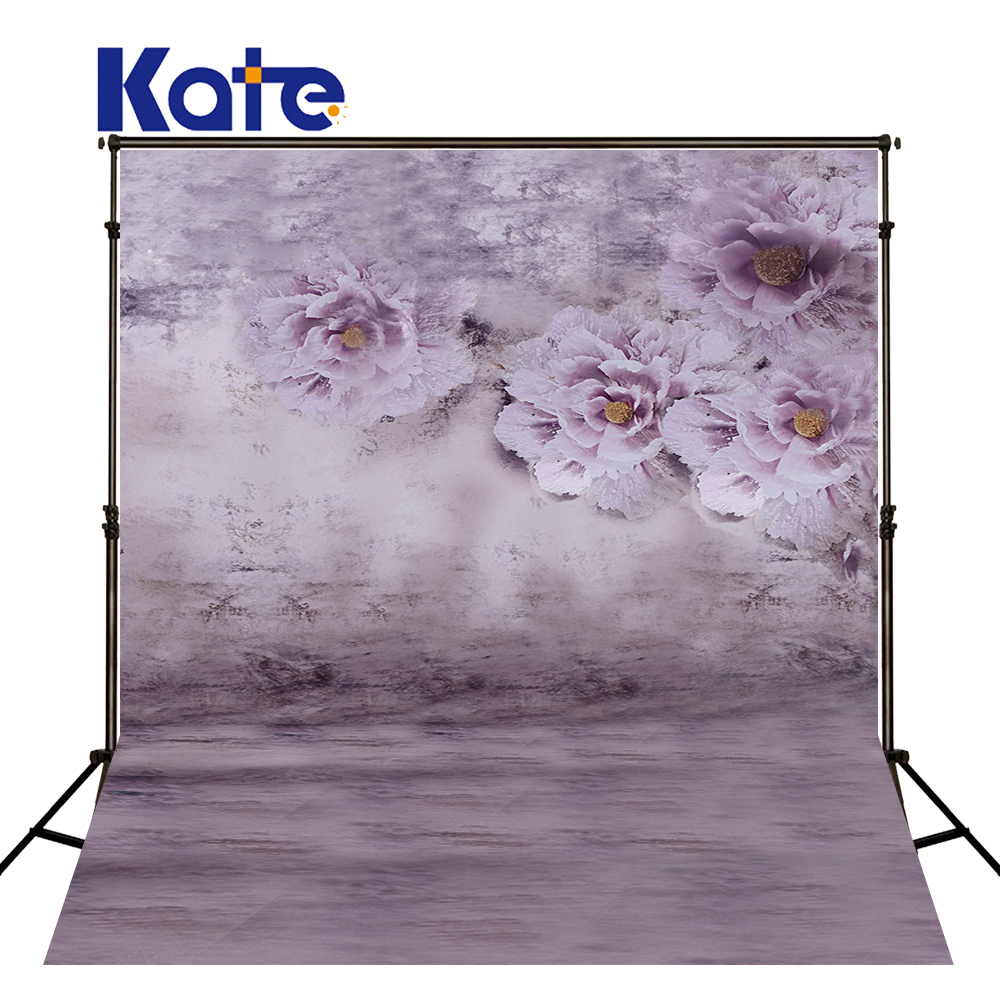 KATE Photography Backdrops 10x10ft Flower Backdrop Photocall Wedding Pastel Pink Background Scenic Backdrops for Newborn Shoot<br>