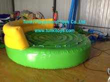 Inflatable Crazy UFO,Inflatable water ski tube with highly quality