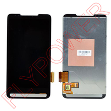 For HTC HD2 T8585 LCD Screen with touch digitizer assembly by free shipping; 100% warranty