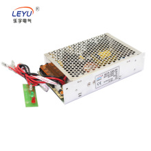 hot selling CE 120w 24v UPS function battery backup charger power supply with battery low cut off protection for alarm system