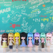 Free Shipping Top discount Basaak plastic doll DIY Blyth Doll Cheapest item Doll limited gift special price cheap offer toy(China)