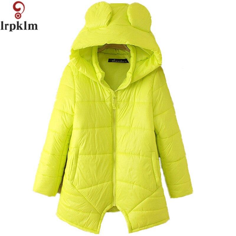 2017 Winter Cute Jacket Women Parka Thick Winter Outerwear Plus Size Coat Short Slim Cotton-padded Jackets&amp;Coats LZ288Îäåæäà è àêñåññóàðû<br><br>