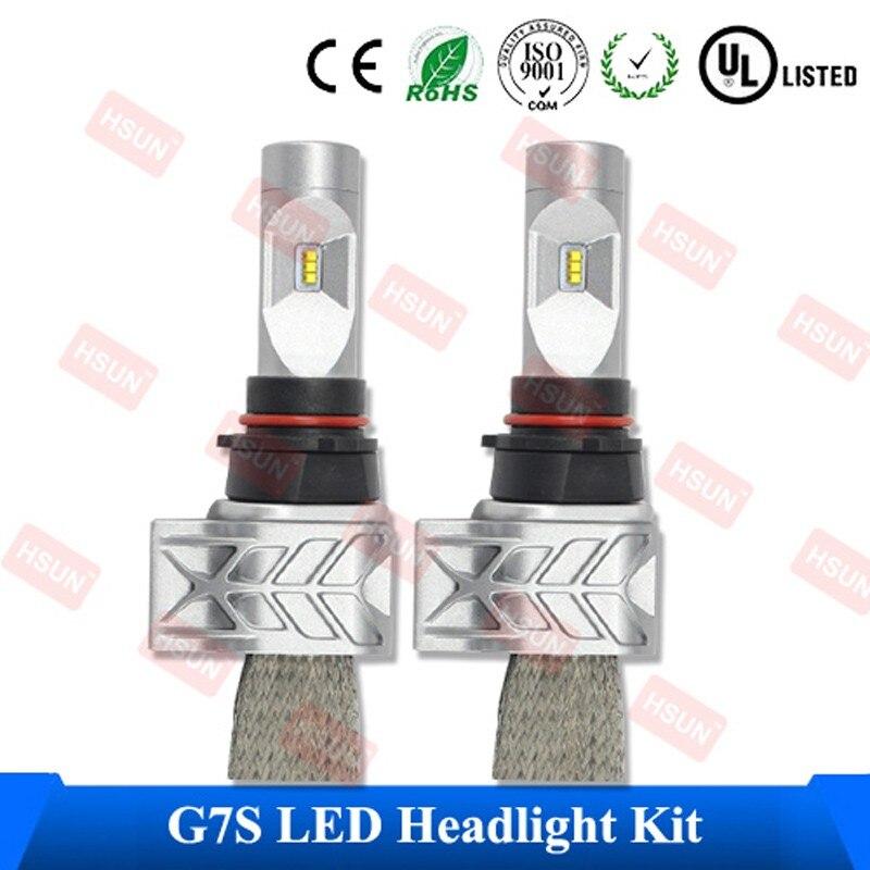 2 Piece/Lot Free Shipping LED Car Headlamp880 881 H1 H3 PSX24W/PSX26W/P13W LED Headlight Bulb H4 H7 H13 9004 9007 LED Headlamp<br><br>Aliexpress