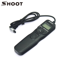 SHOOT RS-80N3 Remote Timer Shutter Release For Canon EOS 10D 20D 30D 40D 50D 5D D60 D50 Mark Remoter for Canon Accessories