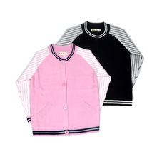 Casual Kids Children Boys Girls Cotton Sweater Cardigan Baseball Uniform Autumn Spring Jacket Cost Clothes 1-4Y(China)