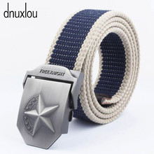 Men Tactical Belt Designer Seven Star Automatic Buckle Military Belt for Mens High Quality Fashion Waist Strap Cintos Para Homen