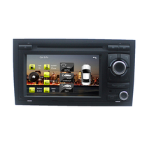 For Car DVD Player 2 Din for Audi A4 S4 RS4 2002-2008 Stereo Headunit with built-in GPS,A8 chipset, RDS,BT SD USB