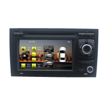 For Car DVD Player 2 Din for Audi A4 S4 RS4 2002-2008 Stereo Headunit with built-in GPS,A8 chipset, RDS,BT SD USB(China)