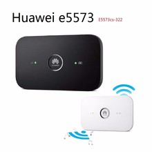 Original Unlocked Huawei E5573 E5573cs-322 CAT4 150Mbps 4G LTE FDD Wireless Router 3G Mobile WiFi Hotspot