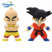 Real Capacity Kung fu Wukong USB Flash Drive Pen Drive 4GB 8GB 16GB 32GB 64GB Dragon Ball Pendrive U disk USB 2.0 Memory Stick