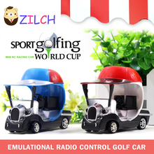 Speed Race Remote Control Toy Sport Golfing World Cup Golf Carts Electric RC Car Best Gift For Kids Children(China)