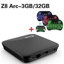 VONTAR Z8 Arc Amlogic S912 Android 7.1 TV BOX DDR4 Octa Core 2/3GB 16/32GB Dual WIFI Media Player PK M8S Pro X92 H96 Pro TV Box(China)