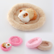 Soft Fleece Guinea Pig Bed Winter Warm Rabbit Hamster Mat Small Animal Cage Bed