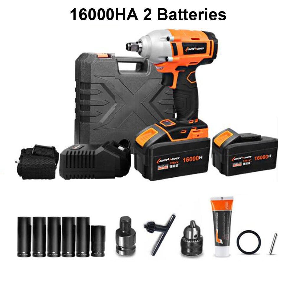 16000HA 2 batteries