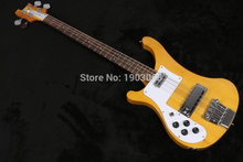 New arrival!TOP QUALITY Factory Product left-handRick 4003 bass setting natural color 4 strings bass guitar,Free shipping(China)