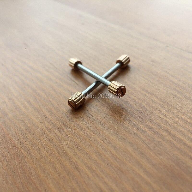 Uhr Schraube Anschluss Rose Gold Schraube Rohr Verschiedene Größe Für Uhr
