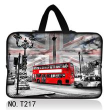 London Bus Laptop Sleeve Bag Waterproof Notebook case For Macbook Air 11 13 Pro 13 15 Retina For Ipad Mini 1 2 3 SURFACE Pro 12