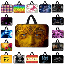 "Many Designs Boys Girls 2017 17 Inch 15"" 14"" 13.3"" 13"" 12"" 10"" Laptop Handle Bag New Notebook Computer Cover Cases Fashion Pouch"