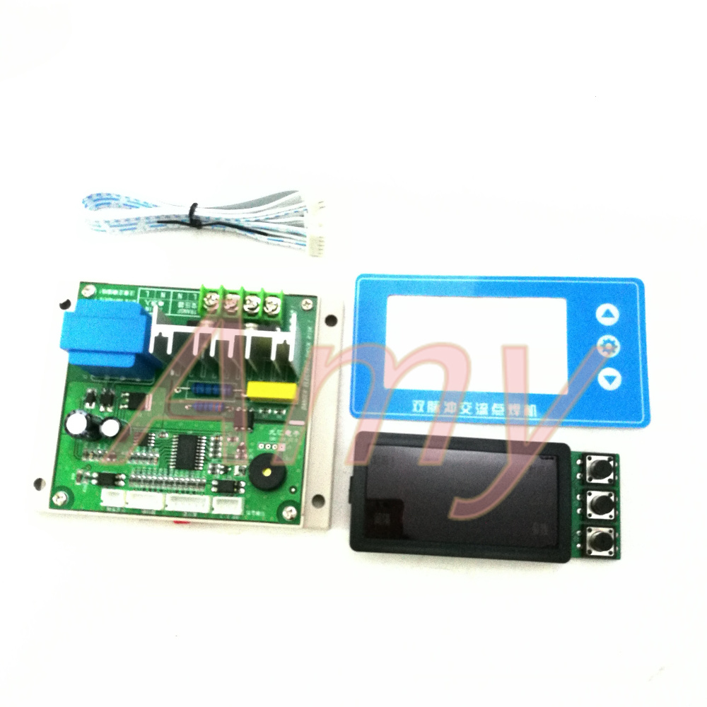 Consumer Electronics Sincere Ny-d04 Diy Spot Welding Machine Transformer Controller Control Panel Board Adjust Time Current Digital Display Buzzer Led Pulse Circuits