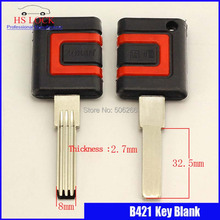 B421 House Home Door Key blanks Locksmith Supplies Blank Keys(China)