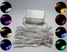 Holiday Sale Outdoor 2M 20 LED Energy String Fairy Lights Battery Operated Fairy Light