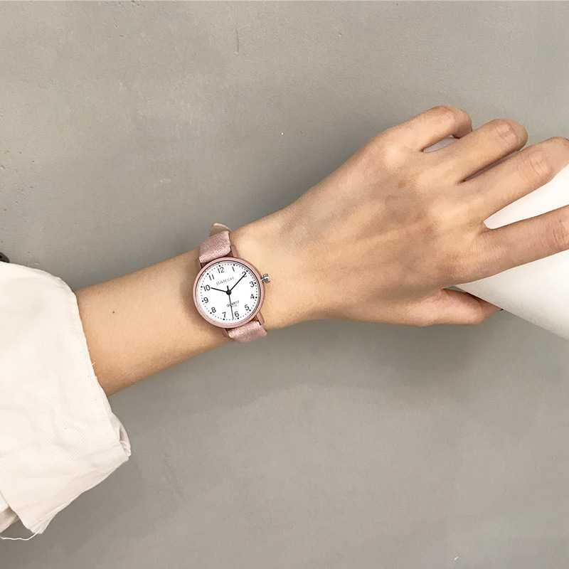 Women's watches fashion brand vintage leather quartz watch women simple woman clock casual ladies wristwatches Montre Feminino
