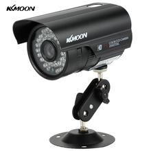 "KKmoon HD 1200TVL Surveillance Camera CCTV Home Security Camera Waterproof Outdoor Night Vision 1/3"" CMOS IR-CUT PAL System(China)"