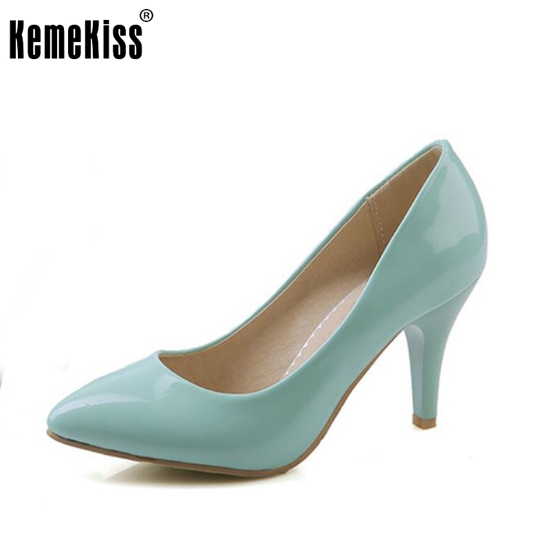 women high heel shoes quality nude color sexy spring fashion heeled footwear brand pumps heels shoes size 33-43 P16322<br>