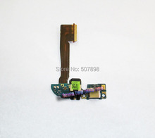 5PCS/LOT Micro USB charger charging connector dock port flex cable for HTC One M8 831c with microphone, free shpping