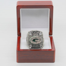 2010 Green Bay Packers rodgers Custom Sports Fans World Championship Ring(China)