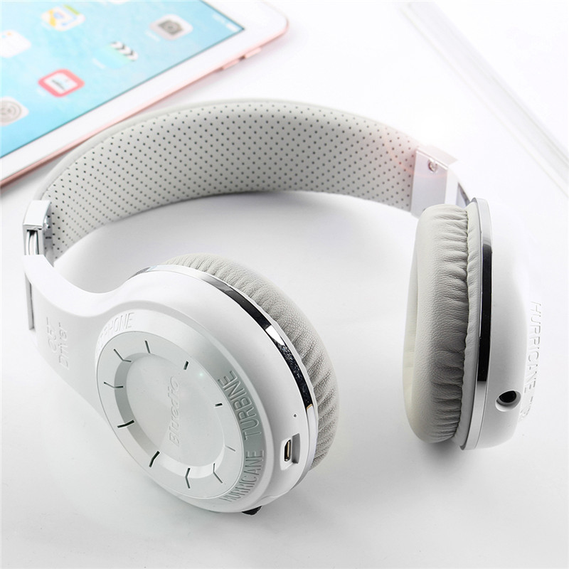 Wireless Headset Active Noise Cancelling Bluetooth 4.1 Headphones Over Ear Stereo Earphones 3.5mm Cancelling For phones music<br>
