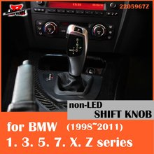 DASH Free shipping NON-LED shift knob for BMW E38 E39 E60 E46 E90 E92 E82 E87 E84 E83 E53 E85 E89 1998 2011(Taiwan,China)