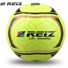 REIZ Football Training Balls 21.5cm Official Size 5# Anti-Slip Seemless Football Soccer Ball For Outdoor Training Sports(China)