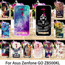 TAOYUNXI Soft TPU Smartphone Cases For ASUS ZenFone Go ZB500KL ZB500KG 5.0 inch Case Back Covers Dirt-resistant Skin Bag Hoods(China)
